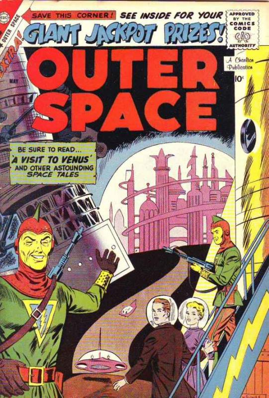 Outer Space #22 (May-59) VF- High-Grade
