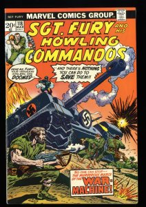 Sgt. Fury and His Howling Commandos #118 VF/NM 9.0 Marvel Comics