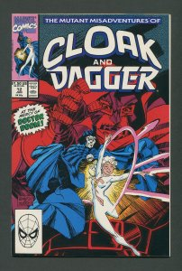 Cloak & Dagger #12 / 9.4 NM+  June 1990