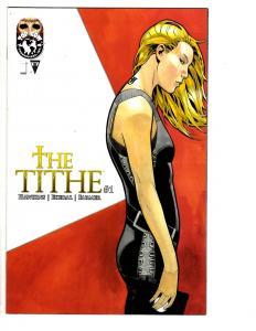 2 The Tithe Top Cow Comic Books # 1 3 Matt Hawkins Rahsan Ekedal Bill Farmer WM7