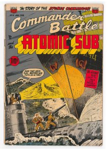 Commander Battle and the Atomic Sub (1954) #4 FN