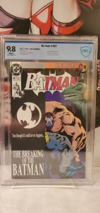 Batman #497 CBCS 9.8 Bane breaks Batmans back