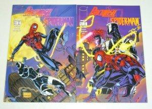 Backlash/Spider-Man #1-2 VF/NM complete series - venom brett booth marvel/image