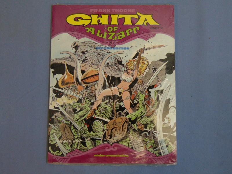 Frank Thorne Ghita of Alizarr Part 2 Second Edition Catalan PB NEW Fantasy Comic