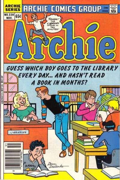 Archie Comics #338, NM- (Stock photo)
