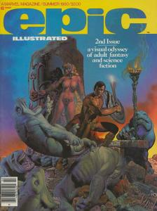 Epic Illustrated #2 VF/NM; Epic | save on shipping - details inside