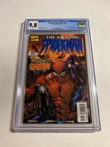 Amazing Spider-man 436 Cgc 9.8 White Pages Marvel