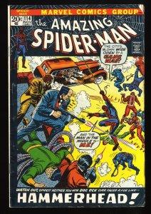 Amazing Spider-Man #114 VG- 3.5 Hammerhead! Marvel Comics Spiderman
