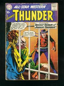 ALL-STAR WESTERN #108 1959-DC COMIC-JOHNNY THUNDER-TRIGGER TWINS-very good VG