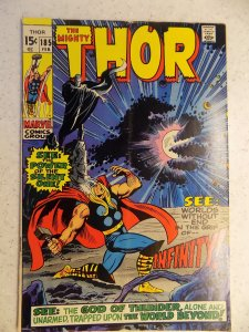 THE MIGHTY THOR # 185 MARVEL GODS JOURNEY ACTION ADVENTURE