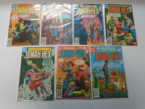 Bronze Age Jonah Hex lot 14 different from #23-79 avg 5.0 VG FN (1979-83 DC)