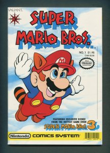 Super Mario Bros. #1  / 9.2 NM-  /  April 1990