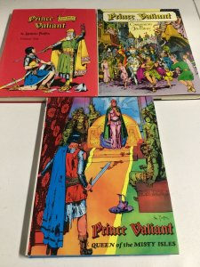 Prince Valiant Volume 1 2 3 HC Hardcover Oversized