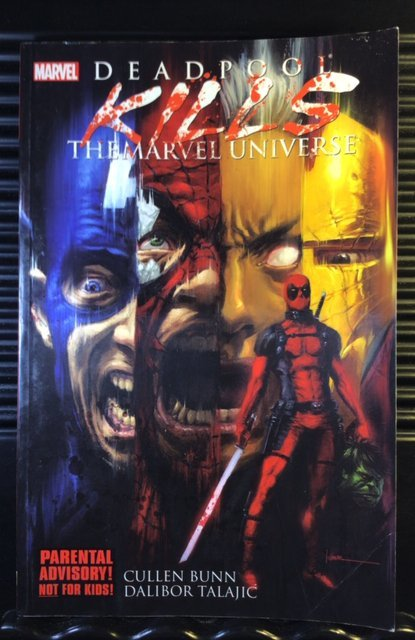 Deadpool Kills the Marvel Universe Vol #1 (2012) TPB GN Collects 1-4