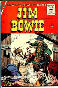Jim Bowie #17 1957-Charlton-Phantom Scout-FN+