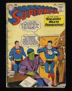 Superman #143 GD 2.0 Bizarro Meets Frankenstein!