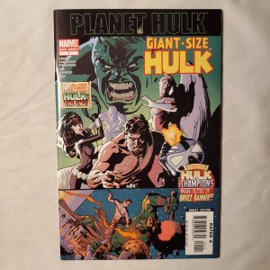 Giant Size Hulk 1 Very Fine Cover by Cover by Ryan Sook