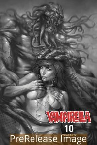 VAMPIRELLA (2019 DYNAMITE) #10 VARIANT 1:10 PARRILLO B&W INCV PRESALE-06/24