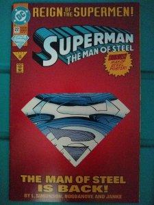 Superman The Man of Steel #22 Bogdanove Variant
