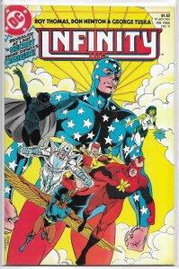 Infinity Inc   vol. 1   #11 FN