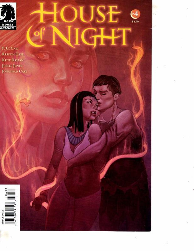 Lot Of 2 Comic Books Dark Horse House Of Night 4 And Dynamite