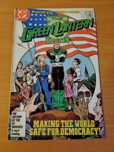 The Green Lantern Corps #210 ~ NEAR MINT NM ~ (1987, DC Comics)