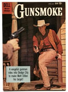 Gunsmoke #20 1960-Dell-James Arness TV photo- NM-