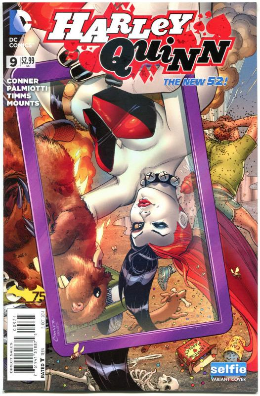 HARLEY QUINN 7 8 9, NM-, New 52, Amanda Conner, Palmiotti, 2014, 3 issues