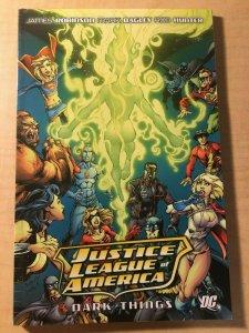 Justice League of America Dark Things DC Comic Book TPB Graphic Novel MFT2