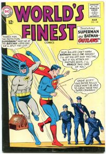 WORLDS FINEST #148 1965-DC COMICS-BATMAN-SUPERMAN VG/FN