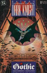 BATMAN LEGENDS OF THE DARK KNIGHT 6-10 Grant Morrison