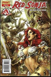 Red Sonja #29 (Dynamite Entertainment)- Greg Tocchini Cover