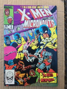 The X-Men and The Micronauts #2 (1984)