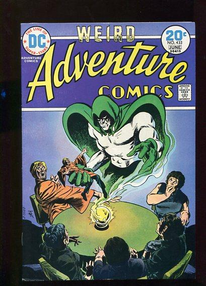 ADVENTURE COMICS #433 AND 438 (1973) 2 BOOKS  9.2 WHITE PAGES  HIGH GRADE