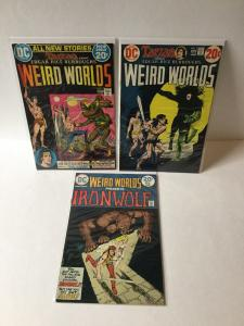Wierd Worlds 1 3 9 7.0 Fine / Very Fine Fn/vf Or Better John Carter Warlord A7
