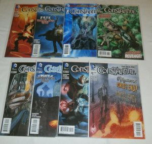Constantine #6,18-23, Futures End #1 (2013 DC) Earth 2: World's End tie-in