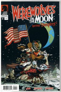 WEREWOLVES on the MOON vs VAMPIRES #1, NM-, 2009, undead, more Horror in store