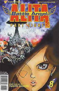 Battle Angel Alita Part 8 #8 VF; Viz | save on shipping - details inside