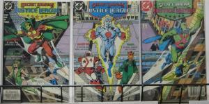 SECRET ORIGINS (DC,1986) #33-35 VF-NM Justice League International 3-issue set