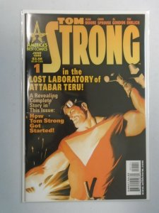 Tom Strong #1 B Variant cover 6.0 FN (1999 Americas Best Comics)