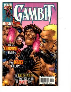 4 Gambit Marvel Comic Books # 3 4 12 14 X-Men Janson Sienkiewicz Nicieza WM2