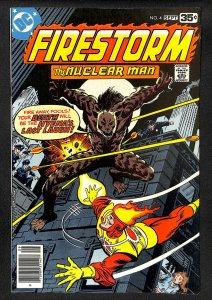 Firestorm, The Nuclear Man #4 (1978)