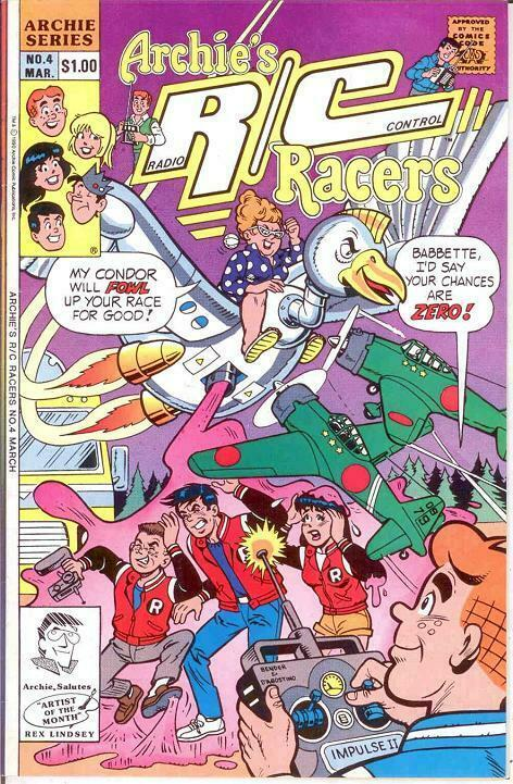 ARCHIES R/C RACERS (1989)4 VF-NM March 1990 COMICS BOOK