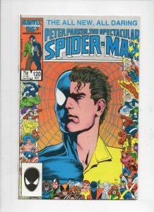 Peter Parker SPECTACULAR SPIDER-MAN #120 VF/NM, Marvel 1976 1986 more in store