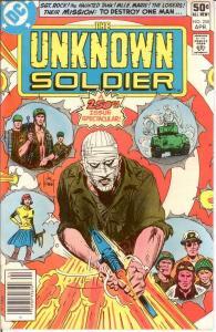UNKNOWN SOLDIER 250 VF-NM April 1981 COMICS BOOK