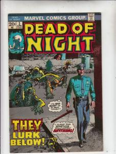 Dead of Night #3 (Apr-74) VF/NM High-Grade Scarecrow