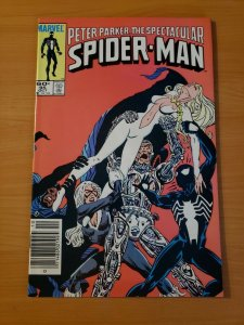 Spectacular Spider-Man #95 Newsstand Edition ~ NEAR MINT NM ~ 1984 Marvel