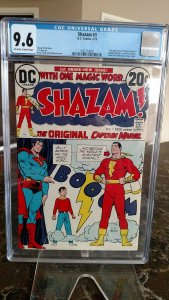 Shazam! #1 (DC, 1973) CGC NM+ 9.6 Off-white to white pages