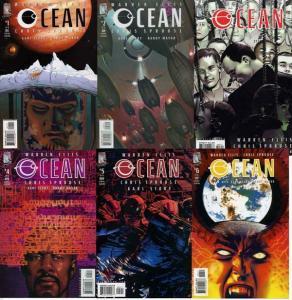 OCEAN (2004 WS) 1-6  Warren Ellis  COMPLETE!