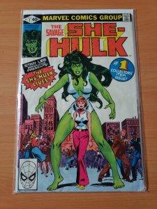 The Savage She-Hulk #1 (1980) FIRST APPEARANCE SHE-HULK! DIRECT MARKET EDITION!